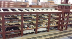 This Epic LEGO Display Uses Three Million Bricks To Showcase New Hampshire's Past