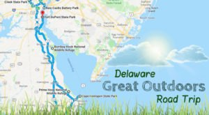 Take This Epic Road Trip To Experience Delaware's Great Outdoors