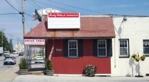 The Best BBQ In Maryland Actually Comes From An Old Gas Station Just Outside Of Baltimore