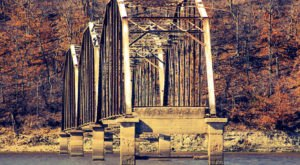 Most People Don't Know The Story Behind Oklahoma's Abandoned Bridge To Nowhere