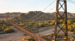 Most People Don't Know The Story Behind Arizona's Abandoned Bridge To Nowhere