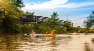 Most People Don't Know There's A Kayak Park Hiding In Nebraska