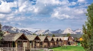 This Log Cabin Campground In Idaho May Just Be Your New Favorite Destination