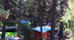 This Log Cabin Campground In Northern California May Just Be Your New Favorite Destination