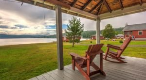 This Log Cabin Campground In Vermont May Just Be Your New Favorite Destination