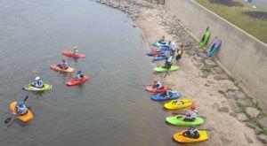 Enjoy An Adventure At Charles City Whitewater, A Kayak Park Hiding In Iowa