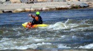 Most People Don't Know There's A Kayak Park Hiding In Wyoming