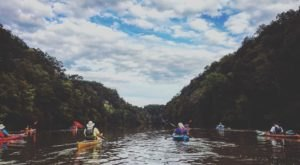 Most People Don't Know There's a Kayak Park Hiding In Kentucky