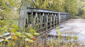 Most People Don't Know The Story Behind Indiana's Abandoned Bridge To Nowhere