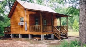 This Log Cabin Campground In Louisiana May Just Be Your New Favorite Destination