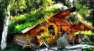 Enjoy A Magical Stay At This Enchanting Hobbit House Right On The Lake In Alaska