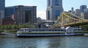 This Twilight Boat Ride In Pittsburgh Will Take You On An Unforgettable Dinner Adventure