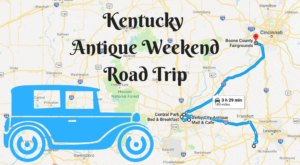Here's The Perfect Weekend Itinerary If You Love Exploring Kentucky's Best Antique Stores
