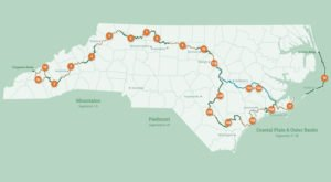 The One Incredible Trail That Spans The Entire State of North Carolina