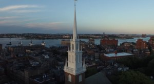 What This Drone Footage Caught In Boston Will Drop Your Jaw
