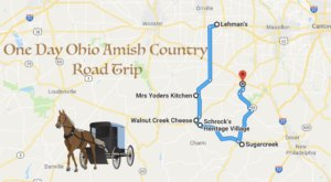 Take A Scenic Drive Of Ohio Amish Country In One Day On This Road Trip