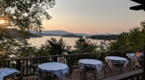 This New Hampshire Steakhouse Has The Most Gorgeous Lake Views