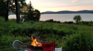 This New Hampshire Lake Is So Remote That The Campsites Are Only Accessible By Boat
