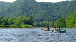 This Kayak Trail In West Virginia Is Unlike Any Trail You've Ever Followed