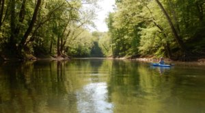 Enjoy An Adventure At Cave Country Canoes, A Kayak Park Hiding In Indiana