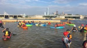 Most People Don't Know There's a Kayak Park Hiding In Oklahoma