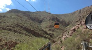 Gaze Into Another Country On This Mountain Tram In Texas