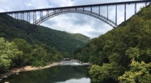 Few People In West Virginia Know About This Breathtaking Bridge Walk