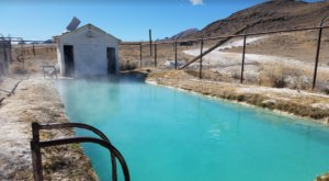 You'll Definitely Want To Soak In The Hot Springs At This Old Ghost Town In Nevada