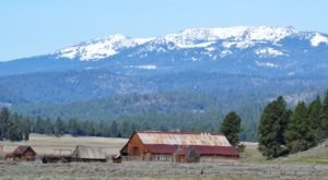 Most People Have Long Forgotten About This Vacant Ghost Town In Rural Oregon