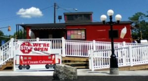 You'll Have Loads Of Fun Visiting This Ice Cream Caboose In Pennsylvania