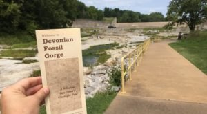 A Trip To This Fossil Gorge In Iowa Is An Adventure Like No Other