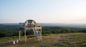 Few People Know You Can Camp At Arkansas' Highest Point