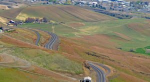 Idaho's Windiest Road Has Over 60 Curves And It's Not For The Faint Of Heart
