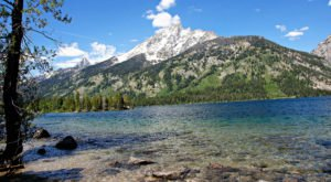 The Crystal-Clear Water In This Wyoming Lake Is Ranked Among The Top In The World