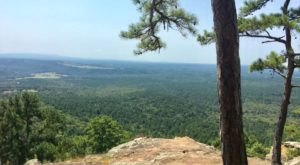 Not Many People Know About This Breathtaking Arkansas Bluff
