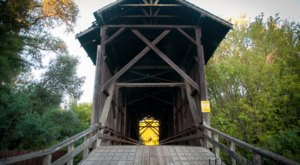 The Tallest Covered Bridge In The Country Is In Northern California And You Have To See It