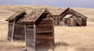 Most People Have Long Forgotten About This Vacant Ghost Town In Rural South Dakota