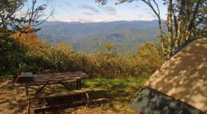 You'll Never Forget Your Stay At This Magical North Carolina Campground In The Clouds