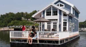 These Floating Cabins Near Cincinnati Are The Ultimate Place To Stay Overnight This Summer