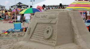 You Won't Want To Miss This Epic Sandcastle Festival On The New Jersey Coast