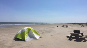 You Can Sleep Right On The Beach At Grand Isle State Park In Louisiana