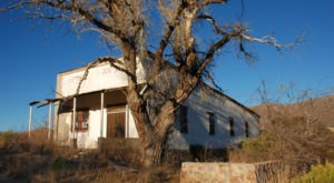 Most People Have Long Forgotten About This Vacant Ghost Town In Rural Arizona
