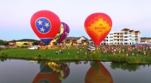 Spend The Day At This Hot Air Balloon Festival In Tennessee For A Uniquely Colorful Experience