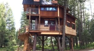 This Treehouse Retreat In Montana May Just Be Your New Favorite Destination