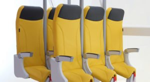 These New Airplane Seats Make Passengers Stand Up For Their Whole Flight