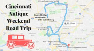 Here's The Perfect Weekend Itinerary If You Love Exploring Cincinnati's Best Antique Stores