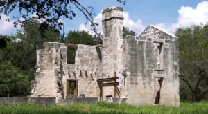 Most People Don't Know About These Strange Ruins Hiding In Austin