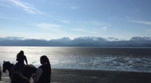 Ride A Horse Down A Beach In Alaska For A Dream Come True