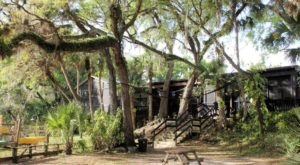 A Bizarre Restaurant In The Middle Of A Florida Swamp, The Linger Lodge Is A Fantastic Place To Dine
