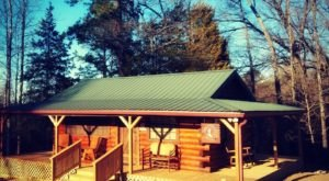 This Log Cabin Campground In Texas May Just Be Your New Favorite Destination